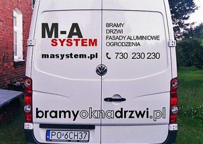 VW Crafter M_A System oklejanie aut poznan