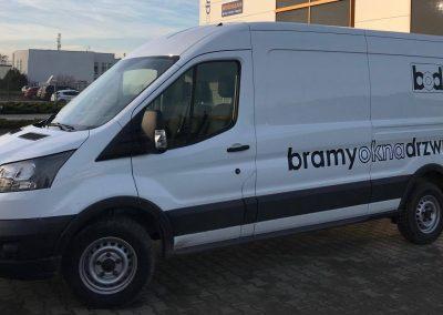 Ford Transit oklejanie pojazdów dostawczych Poznań