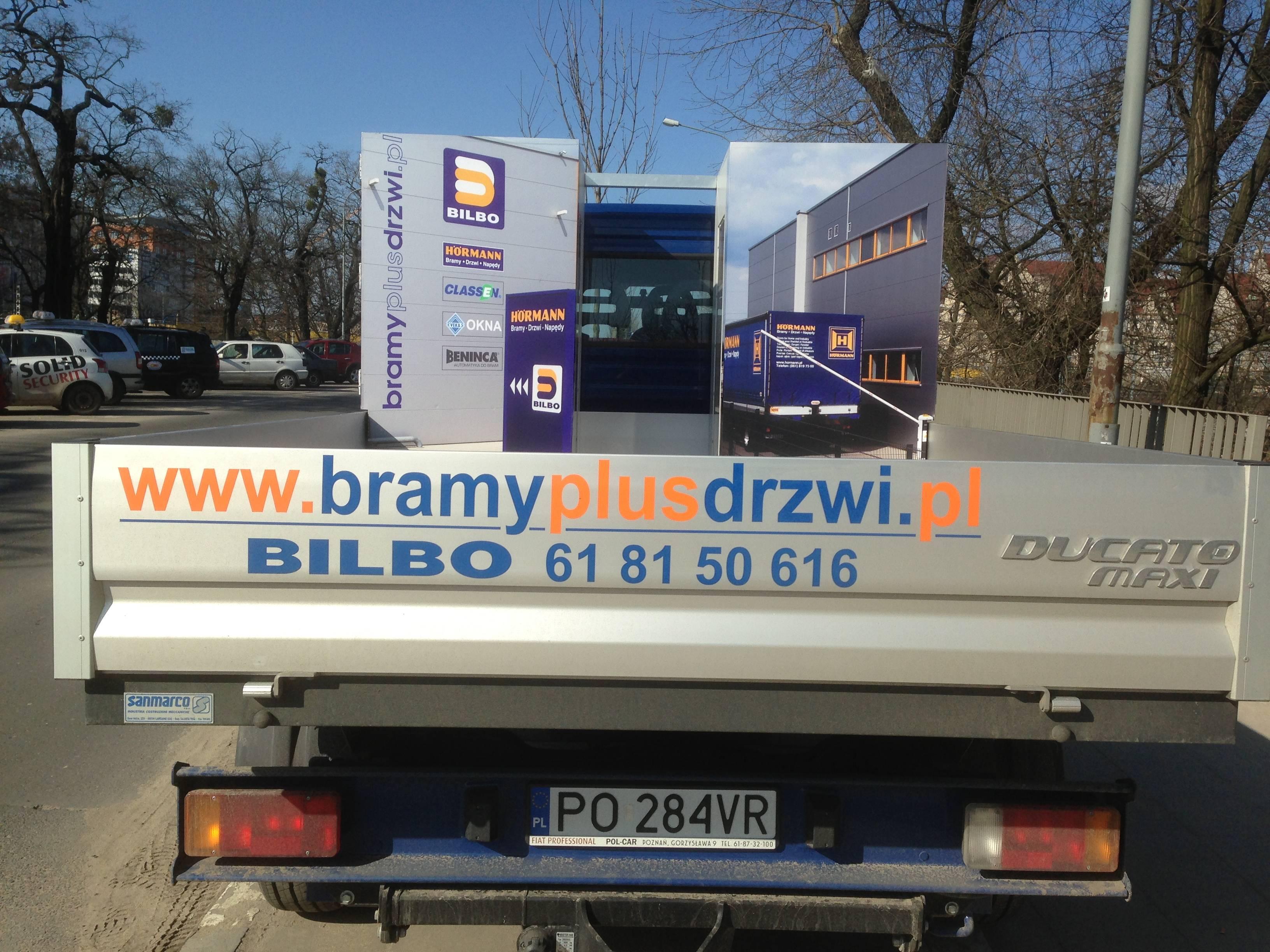 Fiat Ducato oklejanie pojazdów dostawczych Poznań