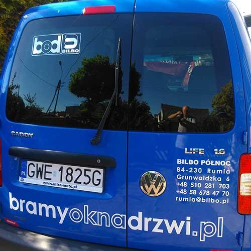 Volkswagen Caddy - Rozak.eu oklejanie